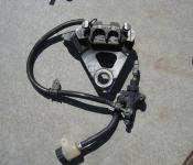 99-02 Yamaha R6 Rear Master Cylinder, Brake Lines and Caliper