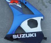 07-08 Suzuki GSXR 1000 Fairing - Left Mid and Lower