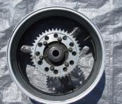 98-01 Yamaha R1 Rear Wheel with Sprocket and Rotor