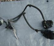 99-02 Yamaha R6 Front Master Cylinder, Brake Lines and Caliper