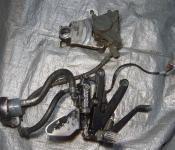 98-01 Yamaha R1 Right Rearset, Master Cylinder, Brake Lines and Caliper