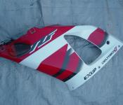 98-01 Yamaha R1 Fairing - Left Mid Red
