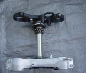 06-07 Suzuki GSXR 600 750  Upper and Lower Triple Tree with Steering Stem