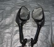 05-06 Suzuki GSXR 1000 Aftermarket Carbon Look Mirrors