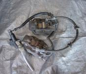 01-03 Suzuki GSXR 600 Front Master Cylinder, Brake Lines and Calipers