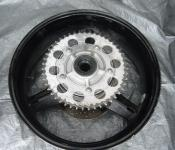 01-03 Suzuki GSXR 600 Rear Wheel with Sprocket and Rotor