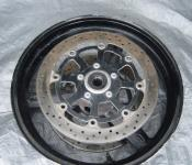 01-03 Suzuki GSXR 600 Front Wheel and Rotors - BENT