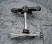 01-02 Suzuki GSXR 1000 Upper and Lower Triple Tree with Steering Stem