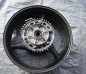 00-01 Honda CBR 929RR Rear Wheel with Sprocket and Rotor