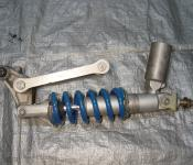00-02 Kawasaki ZX6R / 05-08 ZZR600 Rear Shock and Linkage