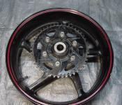 07-08 Yamaha R1 Rear Wheel with Sprocket