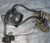 00-05 Kawasaki ZX12 Front Master Cylinder, Brake Lines and Calipers