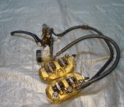 05-06 Kawasaki ZX636 Front Master Cylinder, Brake Lines and Calipers