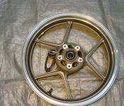 05-06 Kawasaki ZX636 Front Wheel - BENT LIP