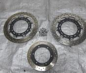 02-03 Yamaha R1 Front and Rear Rotors