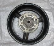 06-07 Suzuki GSXR 600 750 Rear Wheel with Sprocket and Rotor