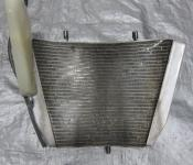 04-05 Suzuki GSXR 600 750 Radiator and Fan