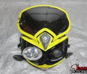 06-07 Suzuki GSXR 600 750 Aftermarket Acerbic Streetfighter Headlight