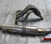 00-05 Kawasaki ZX12 Aftermarket Arata Full Titanium Exhaust Headers Slipon