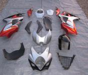 07-08 Suzuki GSXR 1000 Aftermarket Fairing Kit