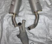 09-12 Yamaha YZF R1 Exhaust and Mid Pipe