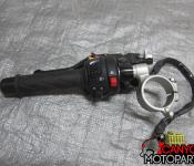 06-07 Suzuki GSXR 600 750 Left Clipon and Controls