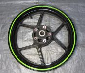 07-08 Kawasaki ZX6 Front Wheel - STRAIGHT
