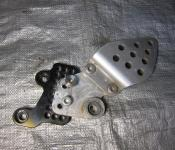 06-07 Honda CBR 1000RR Aftermarket Vortex Shift Bracket Relocater