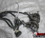 98-01 Yamaha R1 Front Master Cylinder, Brake Lines and Calipers
