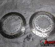 98-01 Yamaha R1 Front Rotors - STRAIGHT