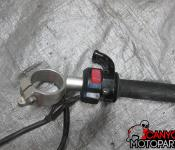 98-01 Yamaha R1 Right Clipon and Controls