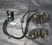 06-07 Suzuki GSXR 600 750 Front Master Cylinder, Brake Lines and Calipers
