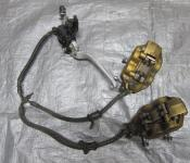 02-03 Honda CBR 954RR Front Master Cylinder, Brake Lines and Calipers