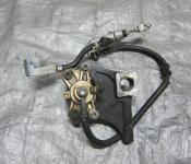 04-05 Suzuki GSXR 600 750 Rear Master Cylinder, Brake Lines and Caliper