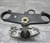 04-05 Suzuki GSXR 600 750 Upper and Lower Triple Tree with Steering Stem
