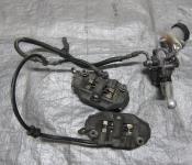 07-08 Honda CBR 600RR Front Master Cylinder, Brake Lines and Calipers