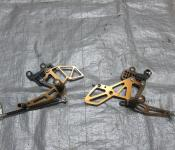 04-05 Suzuki GSXR 600 750 Aftermarket Adjustable Rearsets