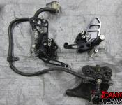 05-06 Suzuki GSXR 1000 Aftermarket Vortex Rearsets Left Right