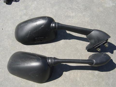 99 02 yamaha r6 mirrors canyon moto parts for Yamaha r6 aftermarket mirrors