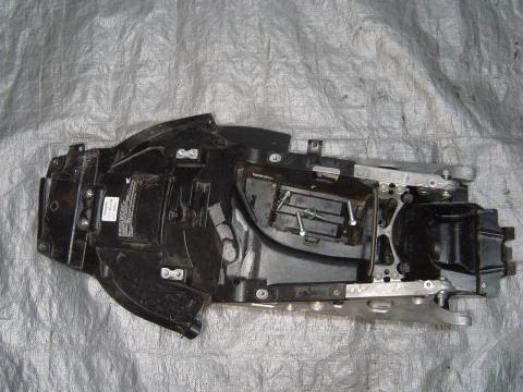05 06 Honda Cbr 600rr Subframe And Battery Tray Canyon Moto Parts