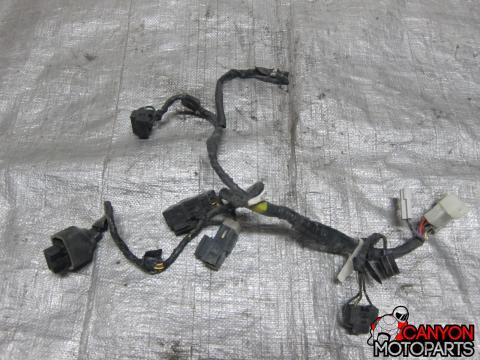 02-03 Yamaha R1 Headlight Wiring Harness | Canyon Moto Parts on