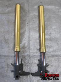 11-18 Suzuki GSXR 600 750 Forks - STRAIGHT   Canyon Moto Parts